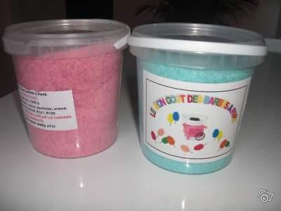 50 bâtons 1KG sucre aromatisé coloré pour machine barbe à papa