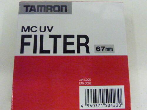 Tamron UV Filter Multi Coated Neuware 67mm