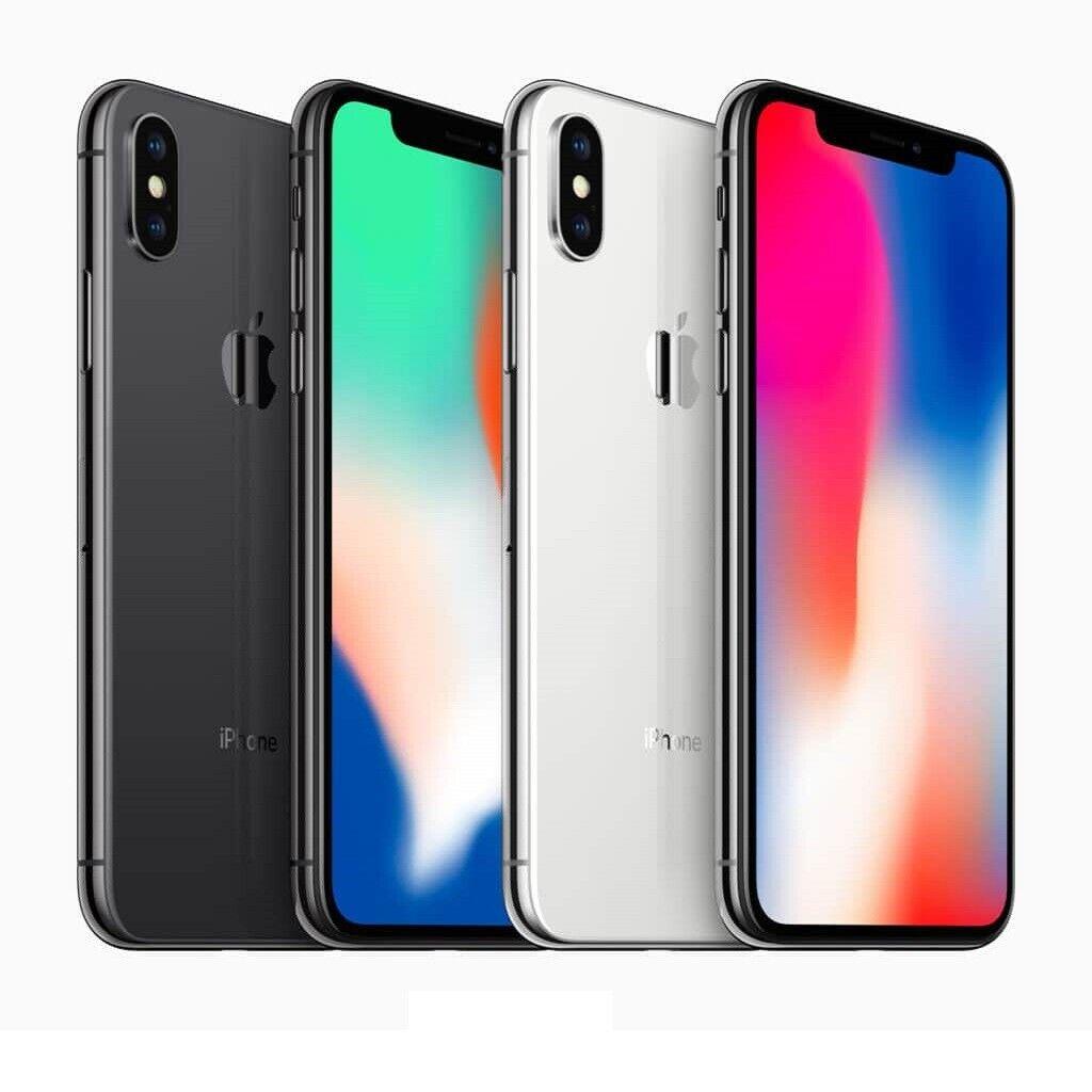 iPhone: IPHONE X RICONDIZIONATO 64GB GRADO A BIANCO SILVER NERO BLACK APPLE RIGENERATO