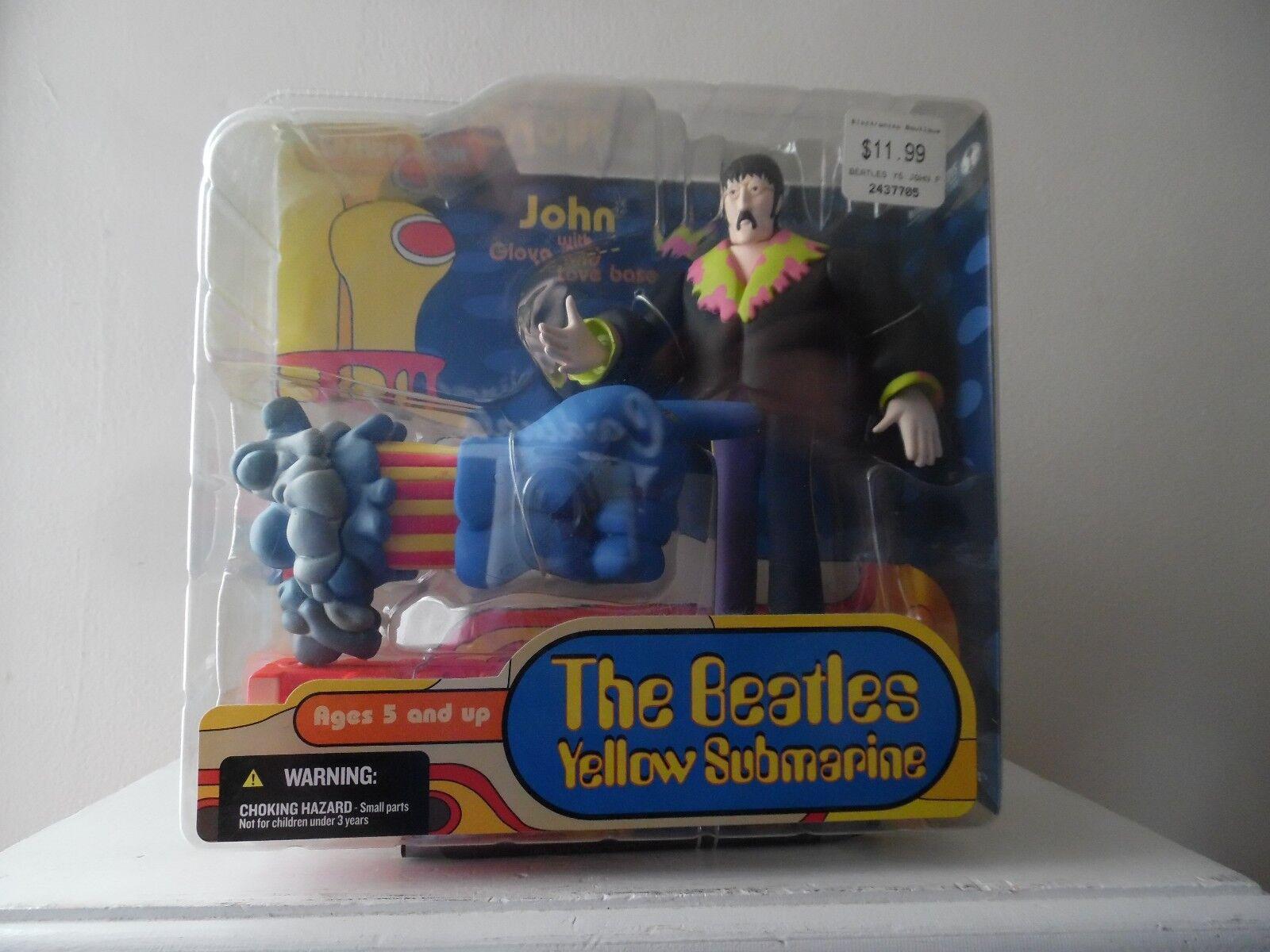 BEATLES - YELLOW SUBMARINE - - - SPAWN.COM TOY - NEW IN BOX -  SEALED  -  JOHN  6df266