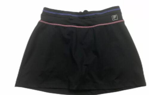 Fila Sport Skort Black Size S Athletic Tennis Trac