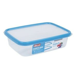 Decor Match Ups Basics Container Oblong Blue 2L 1 ea