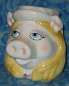 Vintage-Miss-Piggy-Coffee-Mug-Tea-Cup-Jim-Henson-The-Muppet-039-s-Show