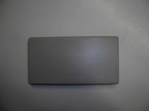 "grau Tehalit Endplatte ⁄ Endstück Hager gebraucht ""M5573"""