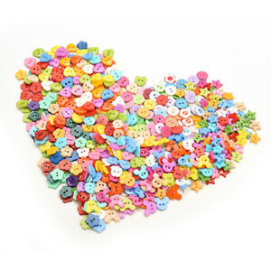 10mm-DIY-Plastic-Buttons-6-Shapes-Sewing-Clothes-Button-Crafts-ScrapbookingDDAU