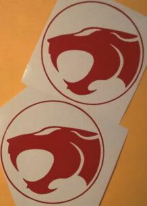 2x-Thunder-Cats-Vinyl-Decal-Sticker-Car-Window-Wall-Bumper-Computer-Applique