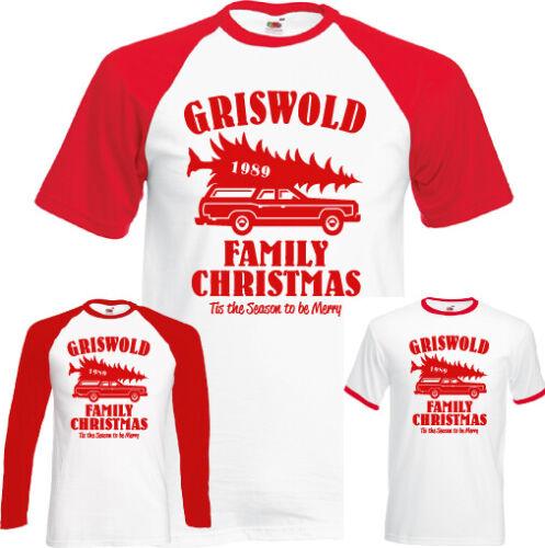 Griswold Familie Weihnachten T-Shirt National Lampoons Urlaub Top Herren