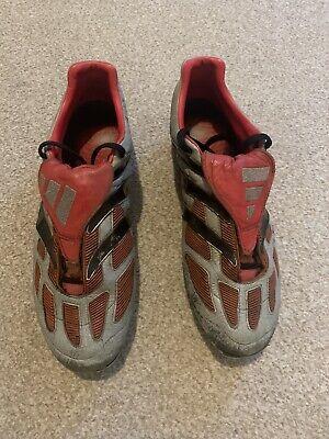 orgánico halcón adverbio  ORIGINAL 2001 ADIDAS PREDATOR PRECISION SILVER & RED RETRO FOOTBALL BOOTS    eBay