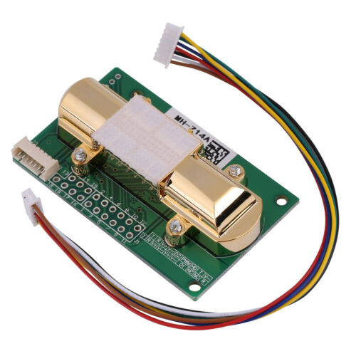 IR CO2 Sensor Board MH-Z14A Serial Port PWM Analog Output 0-5000ppm New