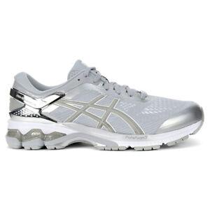 ASICS Men's Gel-Kayano 26 Platinum Piedmont Grey/Sliver Running Shoes 1011A76...