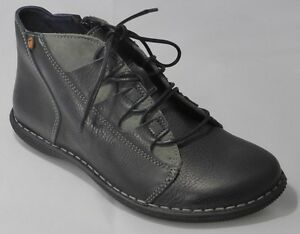Leather To Lined Ladies Boots reduced Black Jungla Clear 5zwCXq4H
