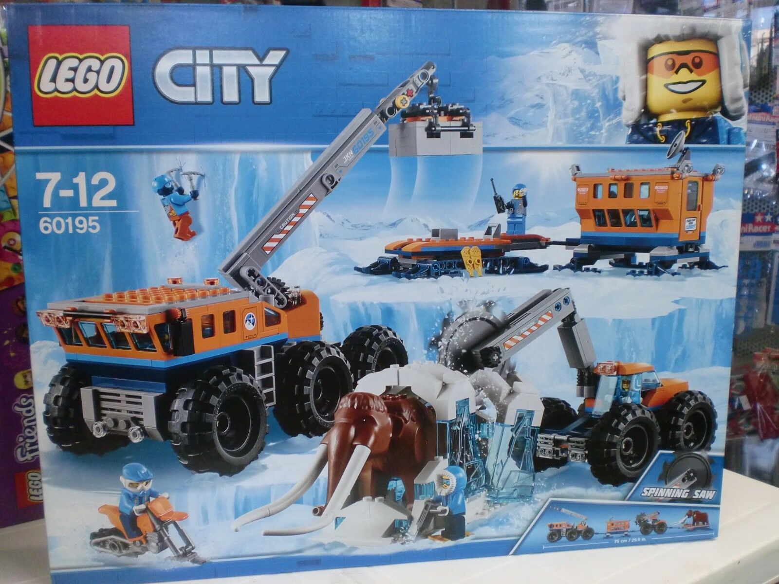 LEGO 60195 - BASE MOBILE DI ESPLORAZIONE ARTICA - SERIE CITY