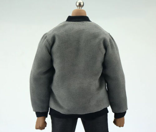 """1//6th Grey Coat model For 12/"""" male M34 Enterbay EB action Figure doll"""