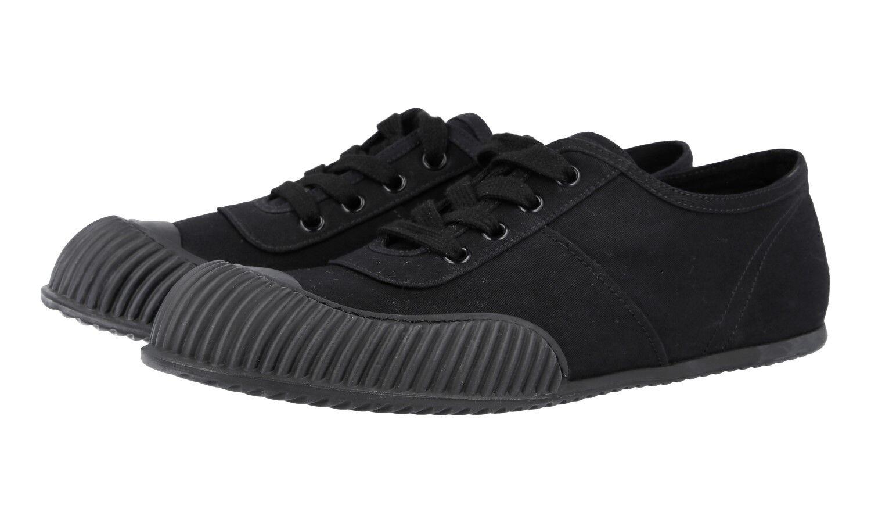 LUSSO PRADA Sneaker Scarpe Hawaii 3e5838 NERO NUOVO NEW 39 39,5