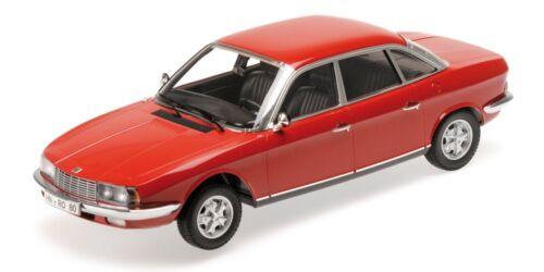 Nsu Ro 80 1972 Red 1:18 Model 151015404 MINICHAMPS