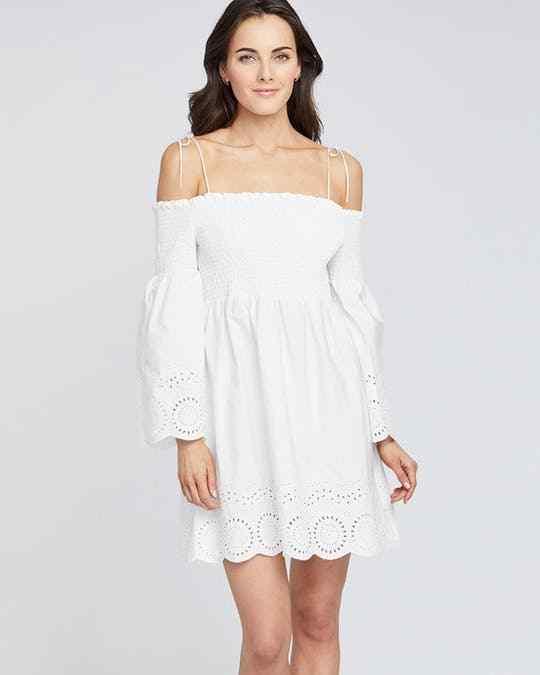 RACHEL Roy Cotton Off-The-Shoulder Dress M NWOT