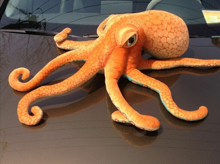 2018 Creative Simulaiton Octopus Toy Plush Sea Animal Octopus Doll Gift 80x25cm