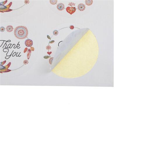 Etiqueta engomada con las etiquetas engomadas del diseño de la flor Regalo v