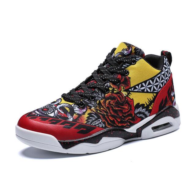 c60182f2 Mens Womens Lovers Fashion Sneaker Plus Size Graffiti Street Athletic Sport  Shoe