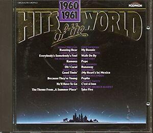 Hits-of-the-World-1960-61-Johnny-Preston-Connie-Francis-Tony-Sheridan-CD