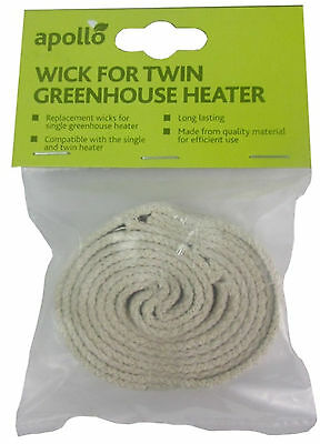 """1//2/""""  Flat Wick for Burners and Heaters  Ideal for Parasene coldframe heater 586"""