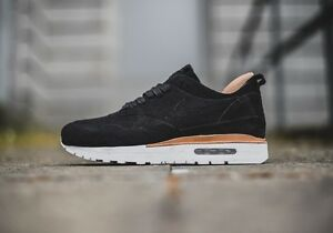 Details about Nike Air Max 1 Royal Black White nikelab air max day linen suede 847671 001