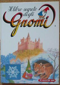BOOK-RAGAZZI-ANNI-80-DE-AGOSTINI-1986-IL-LIBRO-SEGRETO-DEGLI-GNOMI-4-david-gnomo
