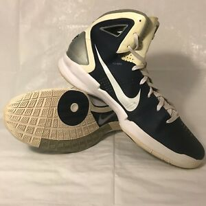 66594cf81 Image is loading Nike-Hyperdunk-2010-TB-Basketball-Shoes-Navy-White-
