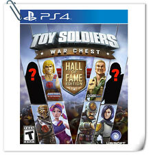 PS4 Toy Soldiers War Chest Hall of Fame SONY Playstation Strategy Games Ubisoft