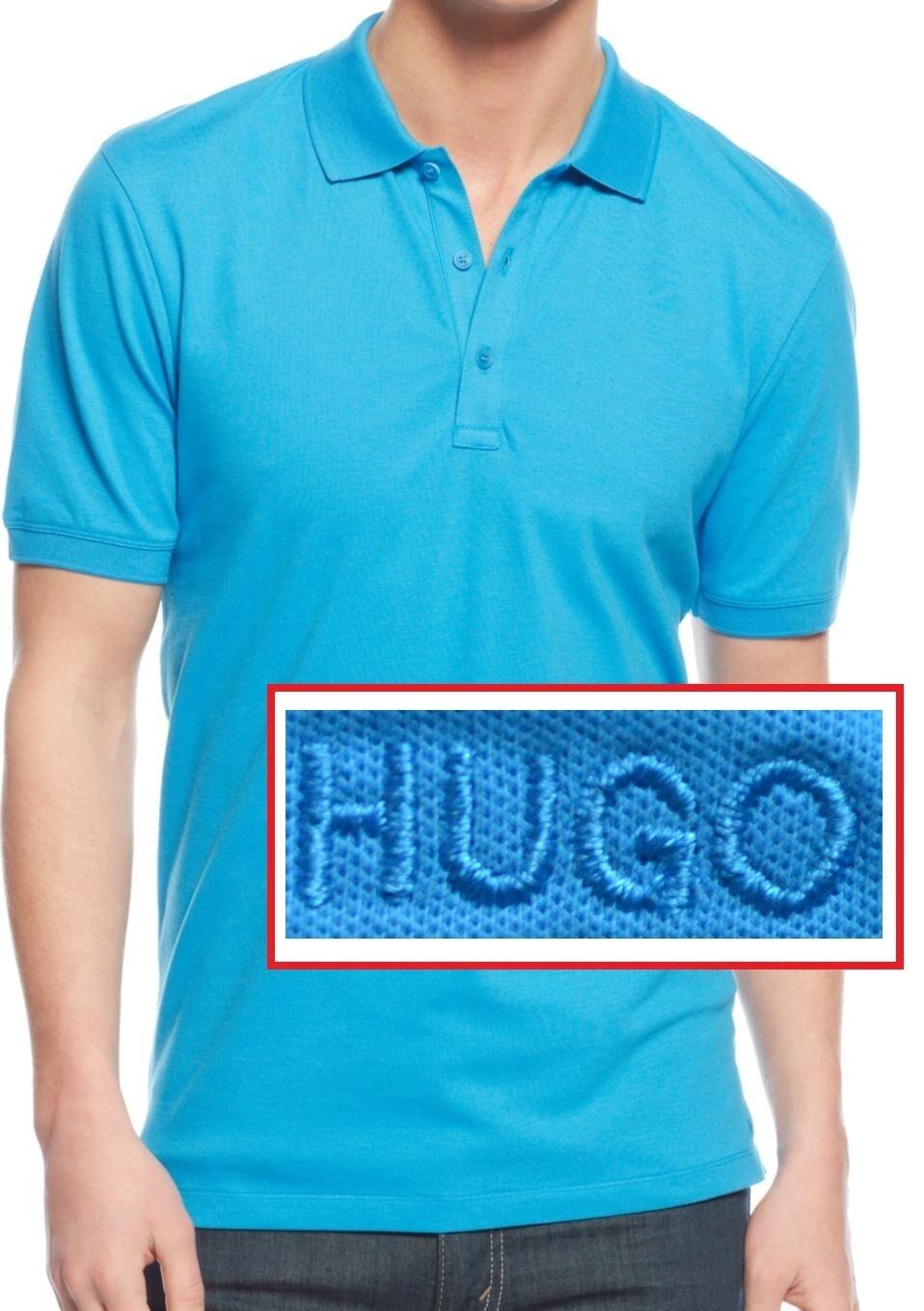 NWT HUGO (Hugo Boss Red Label) By Hugo Boss Slim Fit Stretch Polo Shirt Size XL