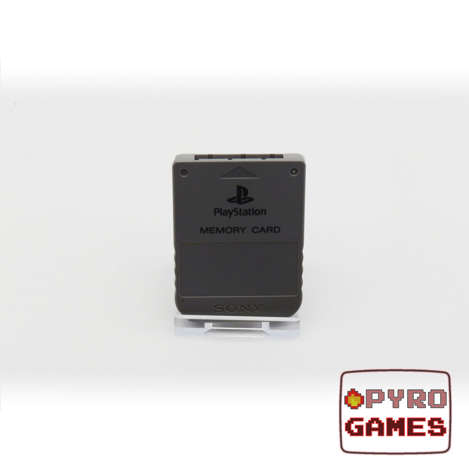Official Memory Card (Grey) - Sony PlayStation 1 - Used