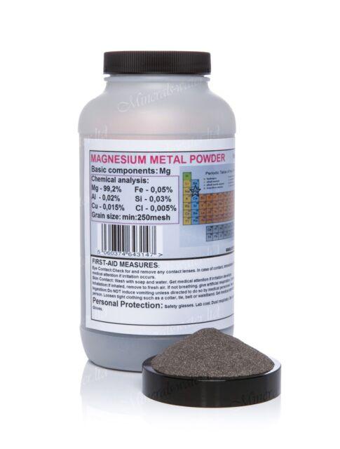 400g Magnesium metal powder 250mesh fine powder! top quality!not ribbon