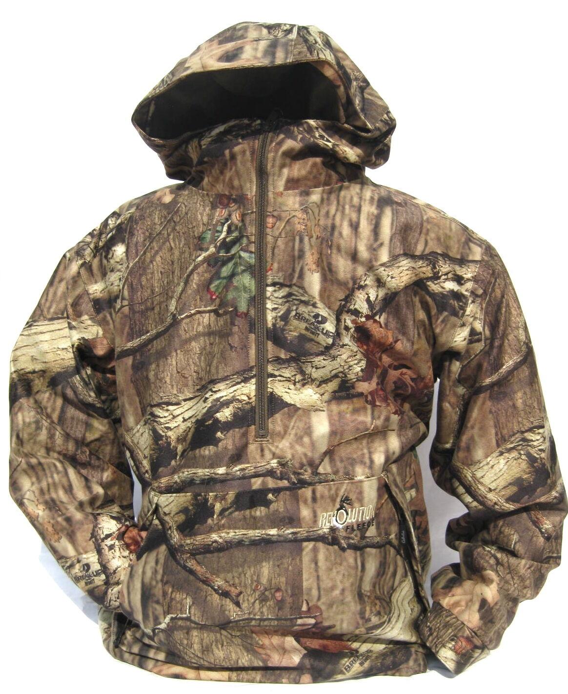 Cabela s REVOLUTION Fleece Dry-Plus Wind & amp;Wasserdichte Pulloverjagdjacke