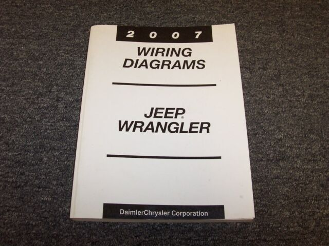 2007 Jeep Wrangler Suv Electrical Wiring Diagram Manual X