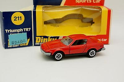 Dinky Toys Gb 1/43 - Triumph Tr7 Rosso 211