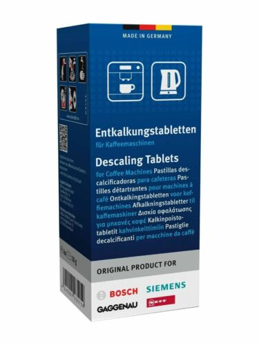 6 x 311864 Bosch Tassimo DECALCIFICANTE//Decalcificazione Compresse Siemens Neff MacChina Del Caffè