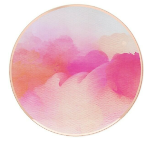 8-Round-Glass-Watercolour-Drinks-Mat-Coaster