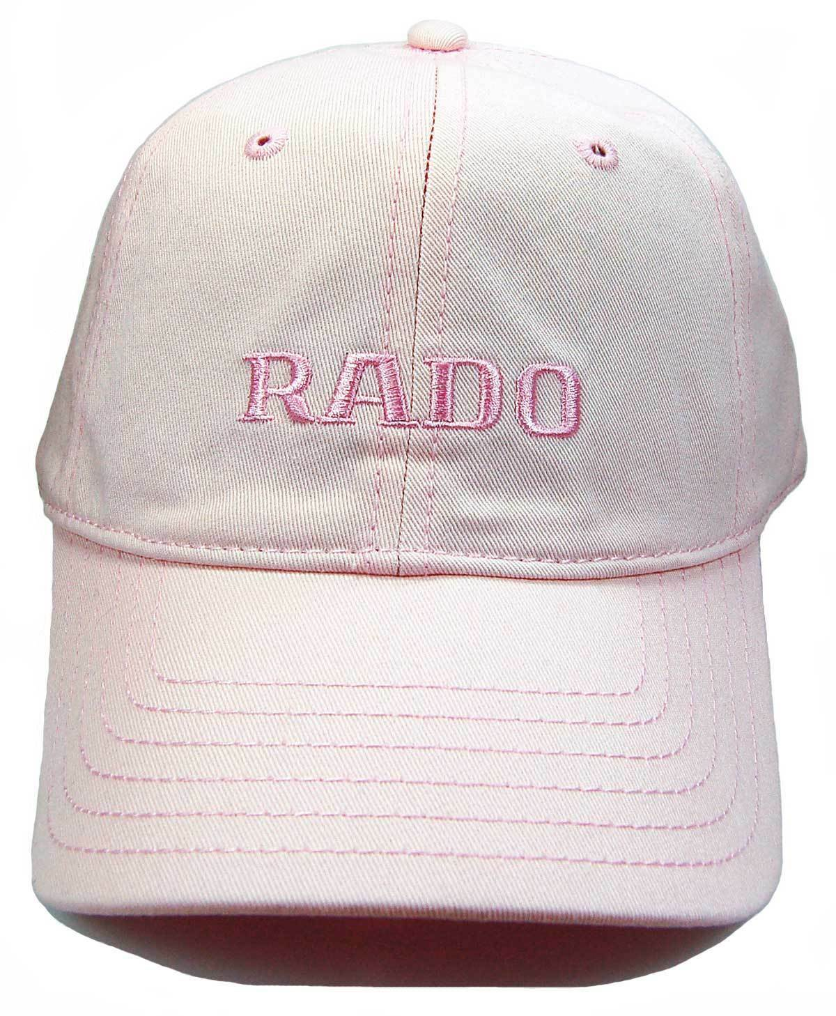 Hat one size fits all NEW Rado Swiss Watches Pink Baseball Cap
