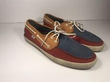 7b05557f68 item 2 VANS Mens Chauffeur Tri Tone Red Blue Orange Surf Sider Boat Shoes  Size US 10 -VANS Mens Chauffeur Tri Tone Red Blue Orange Surf Sider Boat  Shoes ...