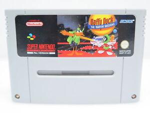 Daffu-Duck-The-marvin-missions-SNES-Super-Nintendo-Jeu-uniquement-le-module-PAL