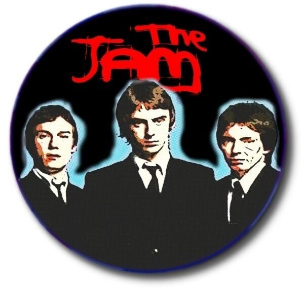 """THE JAM/ MOD/ NEW WAVE/ 1""""/ 25 mm BUTTON BADGE"""