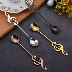 Stainless-Steel-Musical-Note-Dessert-Spoon-Coffee-Stir-Milk-Tea-Scoop-Tableware