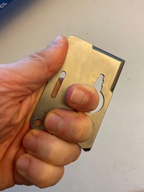 Very Rare Titanium Credit Card Knife