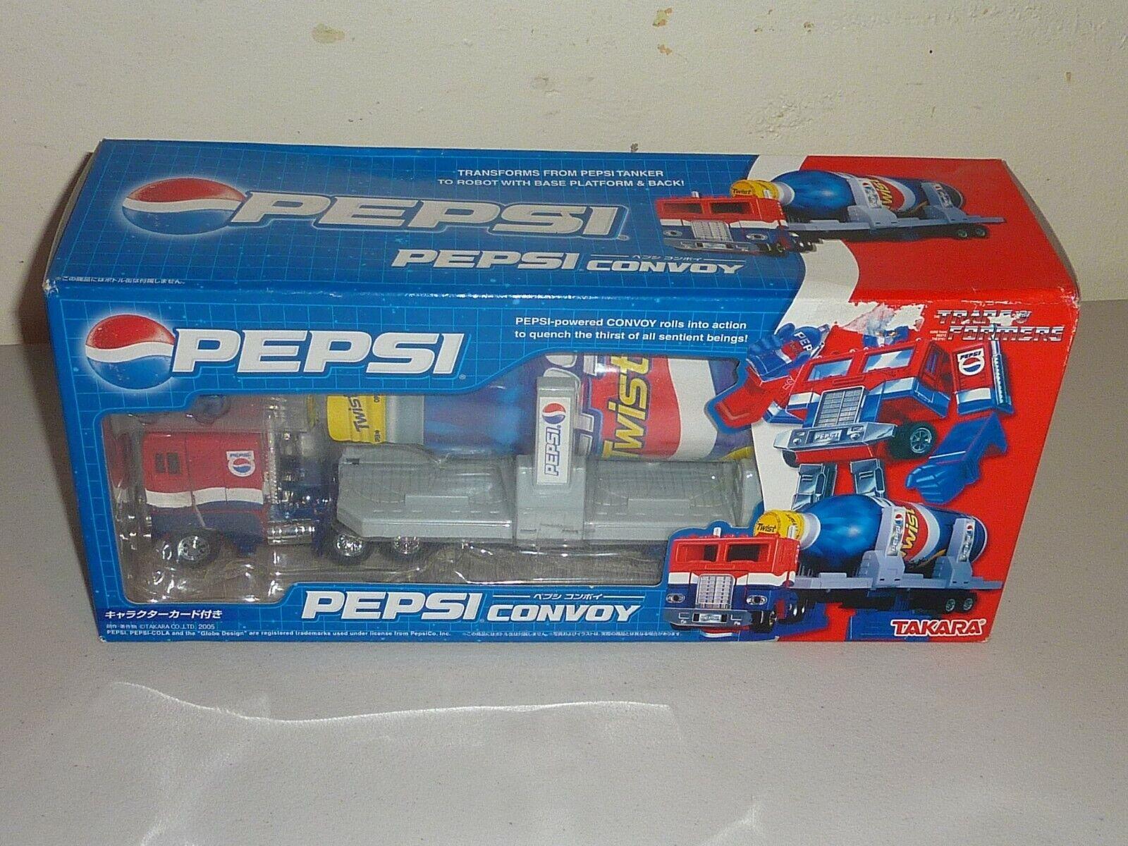 Pepsi convoy transformers takara optimus prime new sealed