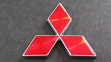 Red Diamond Badge 4.7cm Mitsubishi