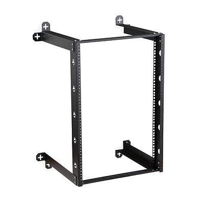 WR-K10-3339-16F Open Frame Wall Mount Server Rack Fixed 16U