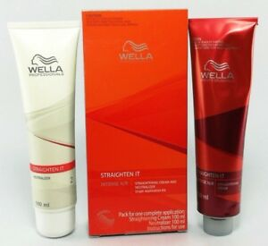 Details about WELLA Straighten IT Intense NR Straightening Cream Neutralizer for Normal Hair