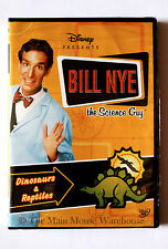 Disney Bill Nye The Science Guy Dinosaurs & Reptiles Educational DVD