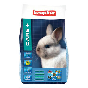 BEAPHAR-CARE-PLUS-JUNIOR-RABBIT-FOOD-FEED-COMPLETE-DIET-1-5KG-OMEGA-amp-FIBRE