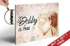 HARRY POTTER DOBBY è libero POSTER WALL ART REGALO 30x21cm Home Decor per i fan Kids